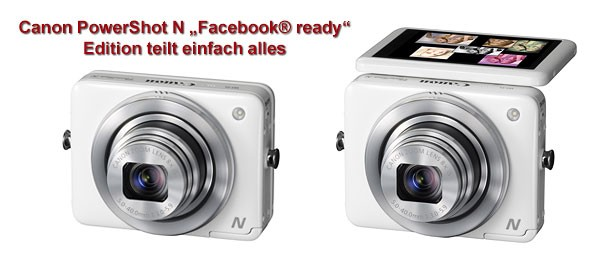 "Canon PowerShot N ""Facebook® ready"" Edition"