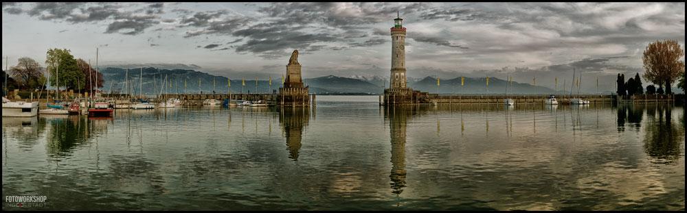 Panoramafotografie Lindau Bodensee Fotoworkshop Ingolstadt