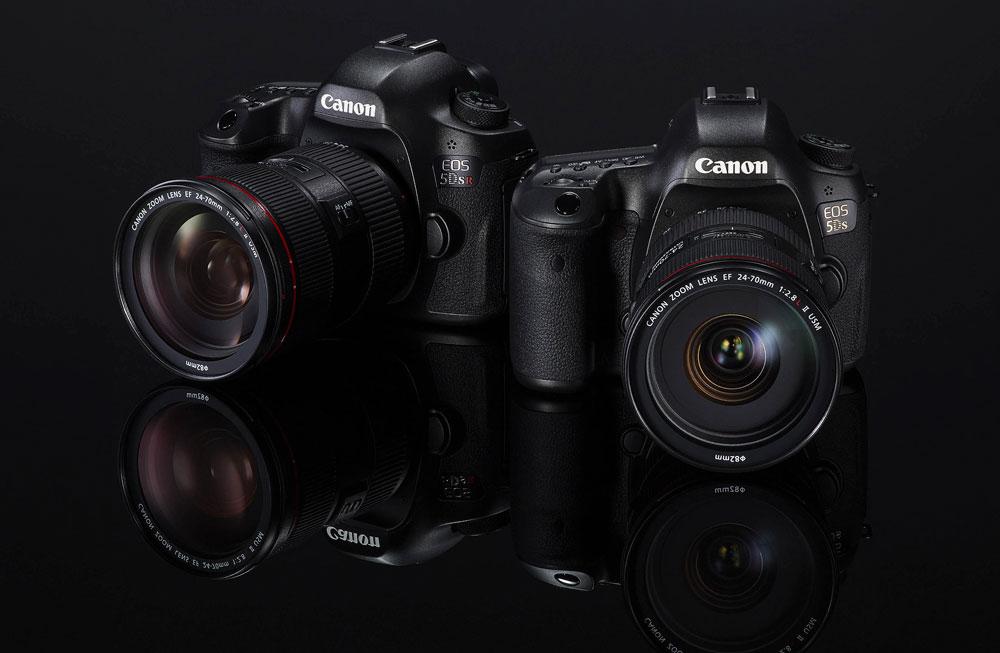 Canon EOS 5DS Canon EOS 5DSR