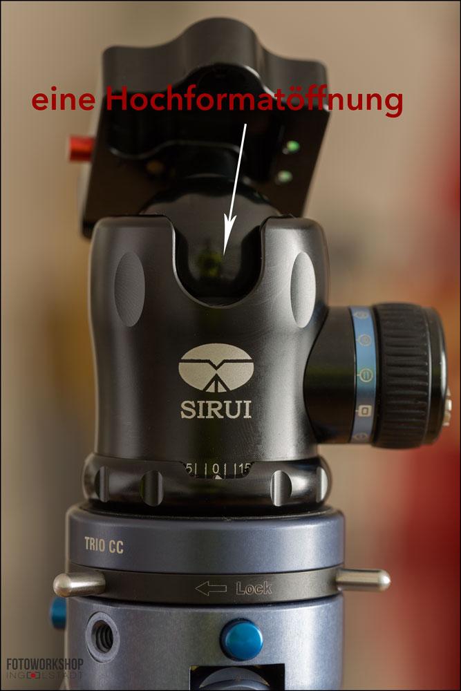 Sirui-K-20X-Hochformatoeffnung