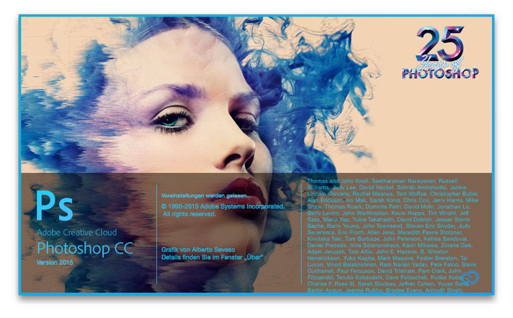 Photoshop CC 2015 Web speichern