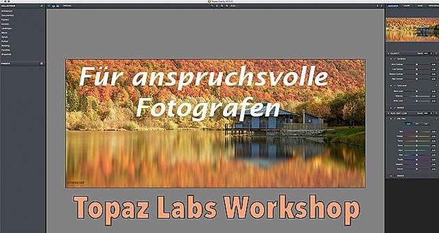 Topaz Labs Workshop