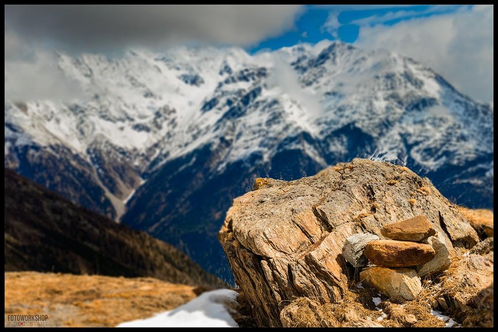 Landschaft Alpen Berge