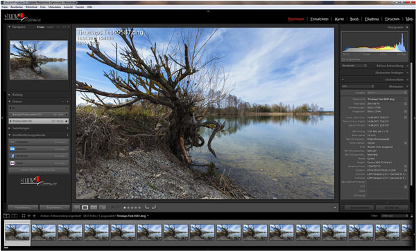 Screenshot Lightroom 5