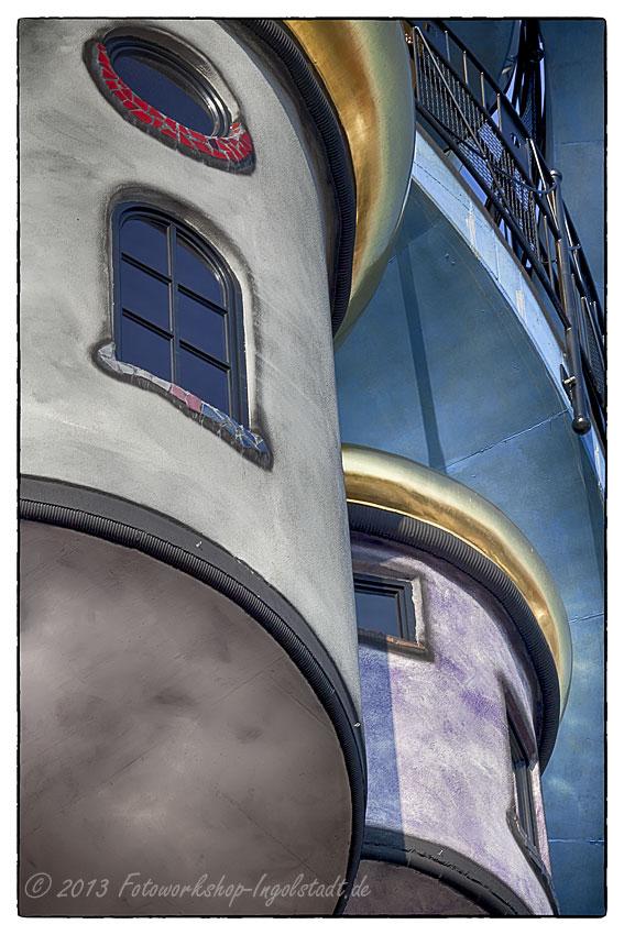 Hundertwasserturm Abendsberg