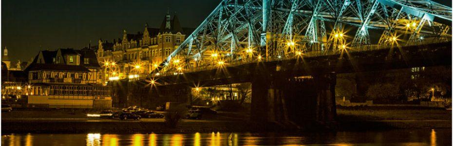 Das blaue Wunder Dresden Bild