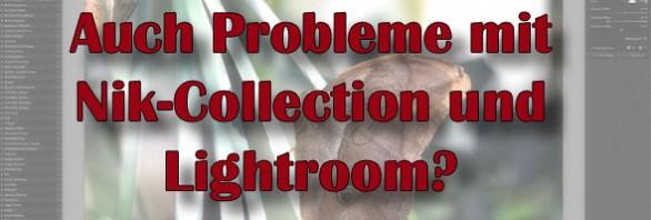 Nikcollection-Probleme