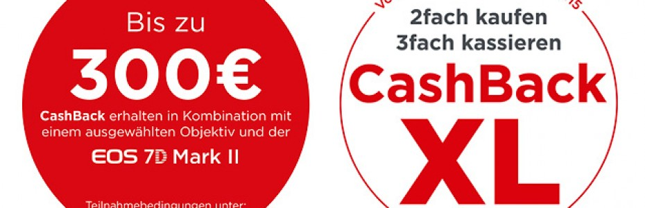 Canon CashBack XL Aktion 2014