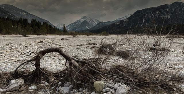 Flussbett Fotoworkshop-Ingolstadt