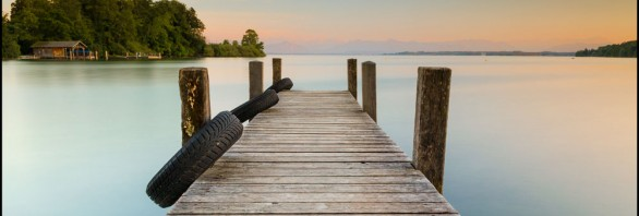 Starnberger See Langzeitbelichtung