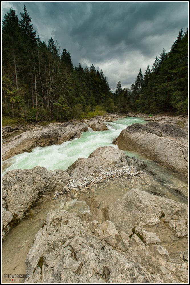 alpenfluss ahornboden tirol