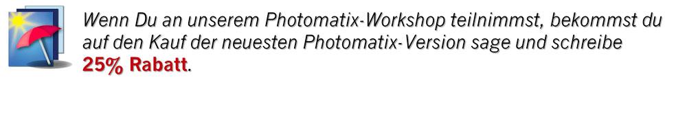 Aktion Photomatix HDR Workshop