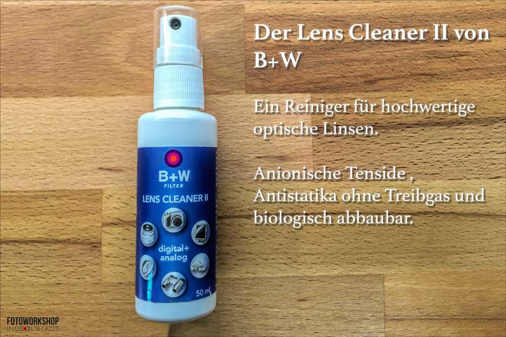 Lens Cleaner II Test