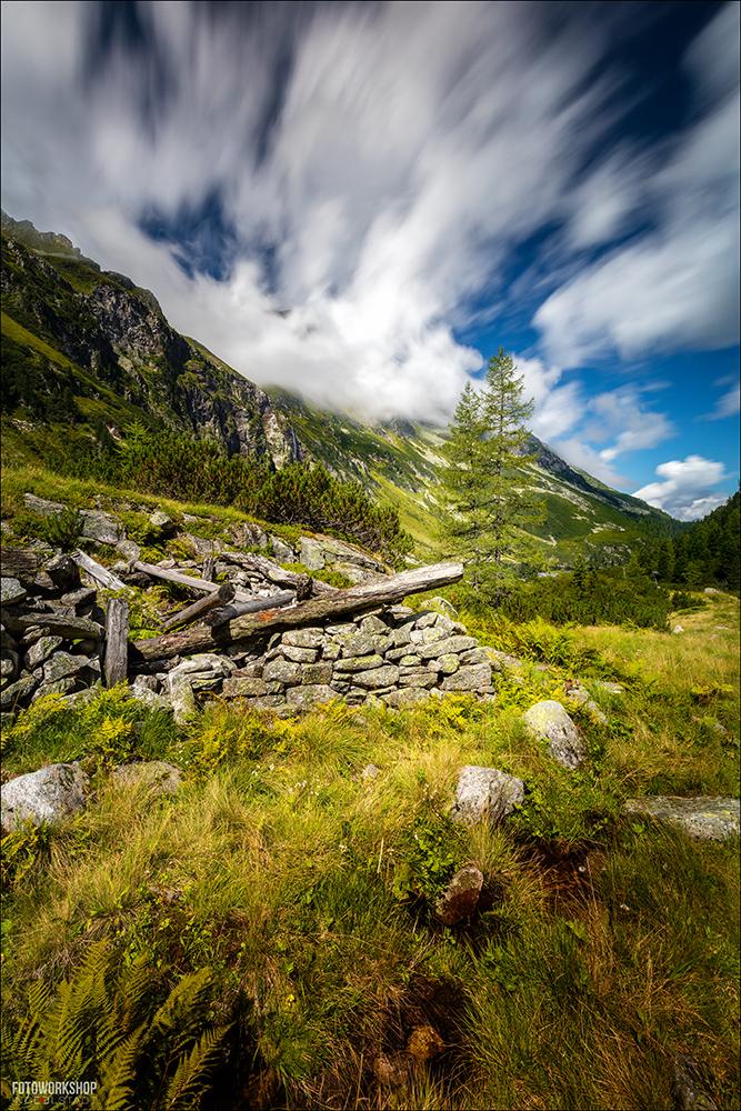 Berge Alpen Wolkenbild
