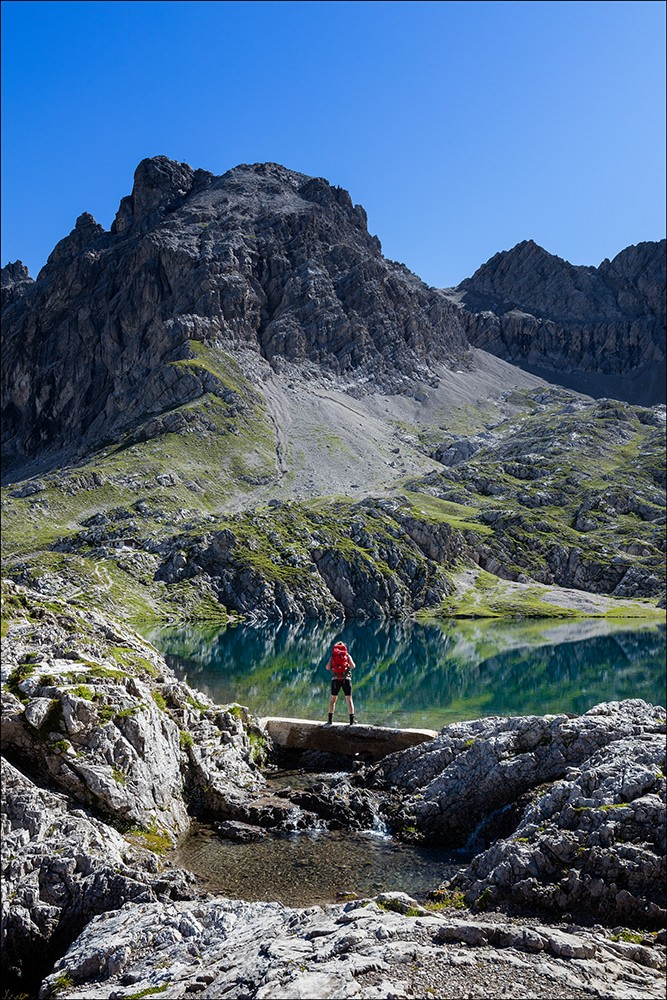 Bergsee Lienzer Dolomiten