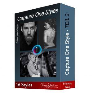 Capture One Styles Teil 2 Schwarzweiß Portraitnoir