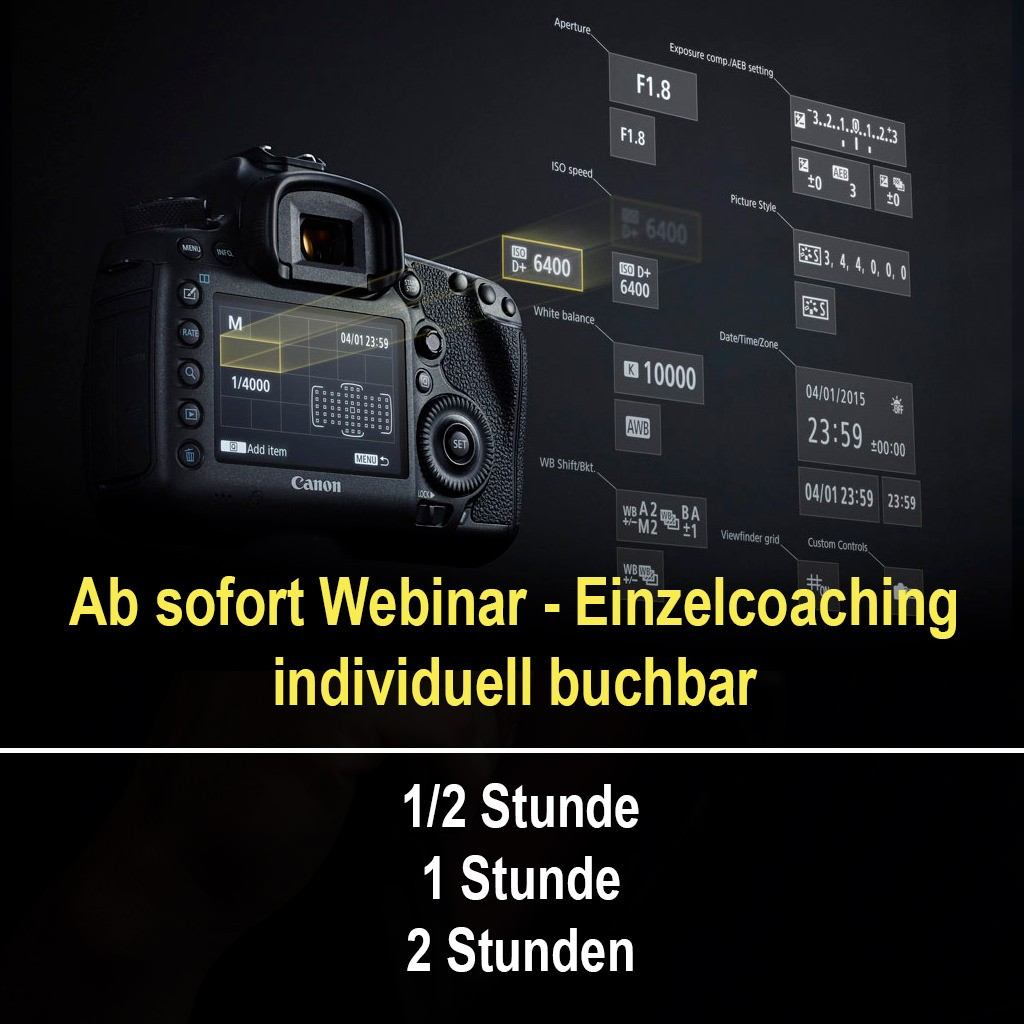 Webinar Einzelcoaching Fotografie Fotoworkshop-Ingolstadt Thomas Stähler
