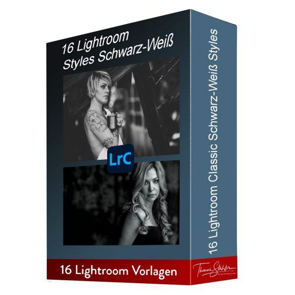 Lightroom Schwarz-Weiss Styles