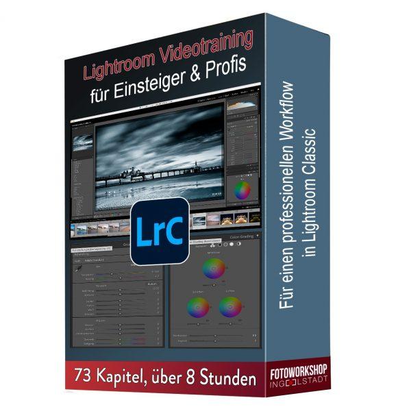 Lightroom Classic Videotraining Fotoworkshop-Ingolstadt Thomas Stähler Produktbild